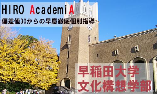 早稲田文化構想学